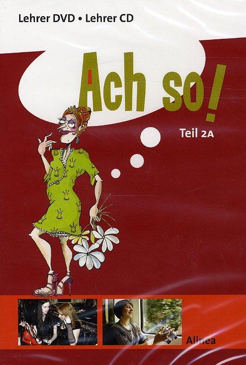 Image of   Ach So! Teil 2a, Lehrer Dvd/cd - Agerskov - Bog