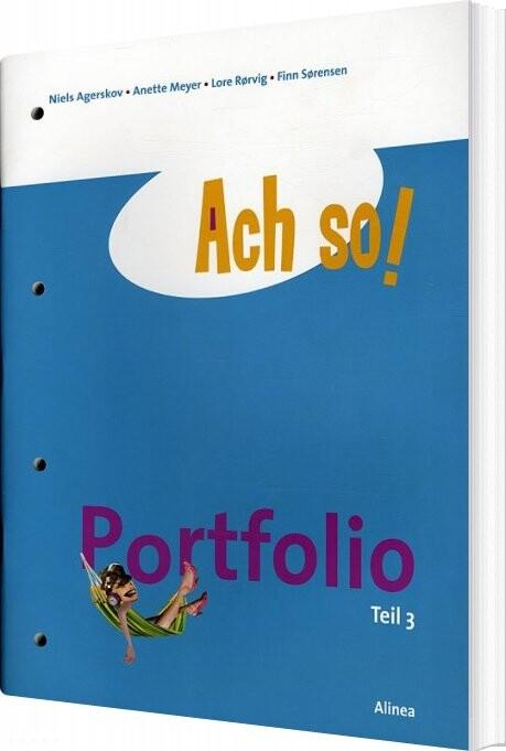 Image of   Ach So! Teil 3, Portfolio - Finn Sørensen - Bog