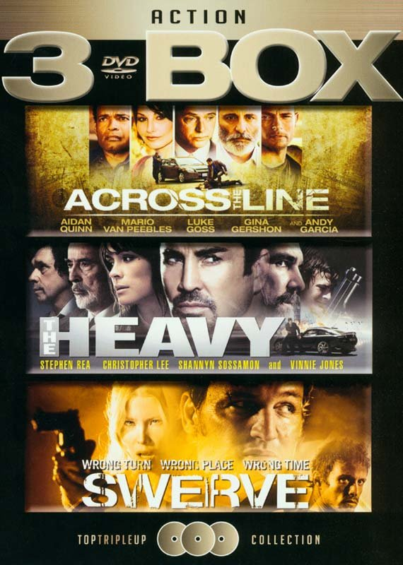 Image of   Across The Line // The Heavy // Swerve - DVD - Film