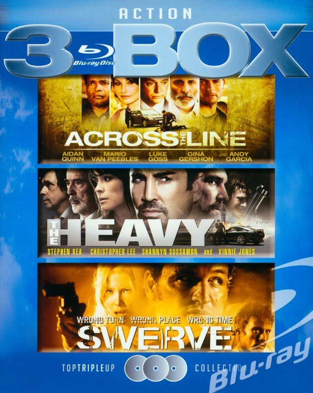 Image of   Across The Line // The Heavy // Swerve - Blu-Ray