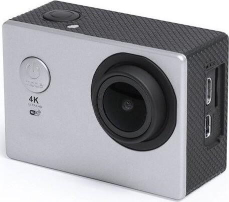 """Image of   Action Kamera Sæt - 4k - Wifi - 30 M Vandtæt - 2"""" Skærm - Grå"""