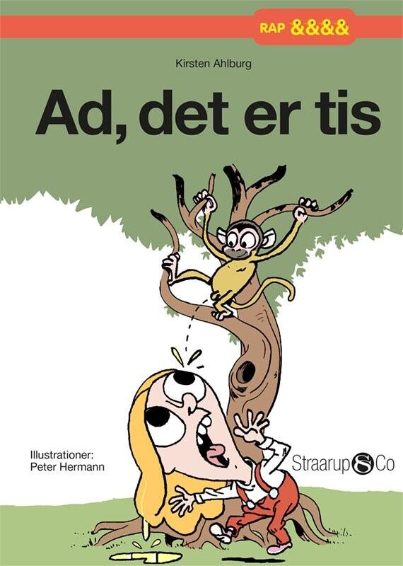 Image of   Ad, Det Er Tis - Kirsten Ahlburg - Bog