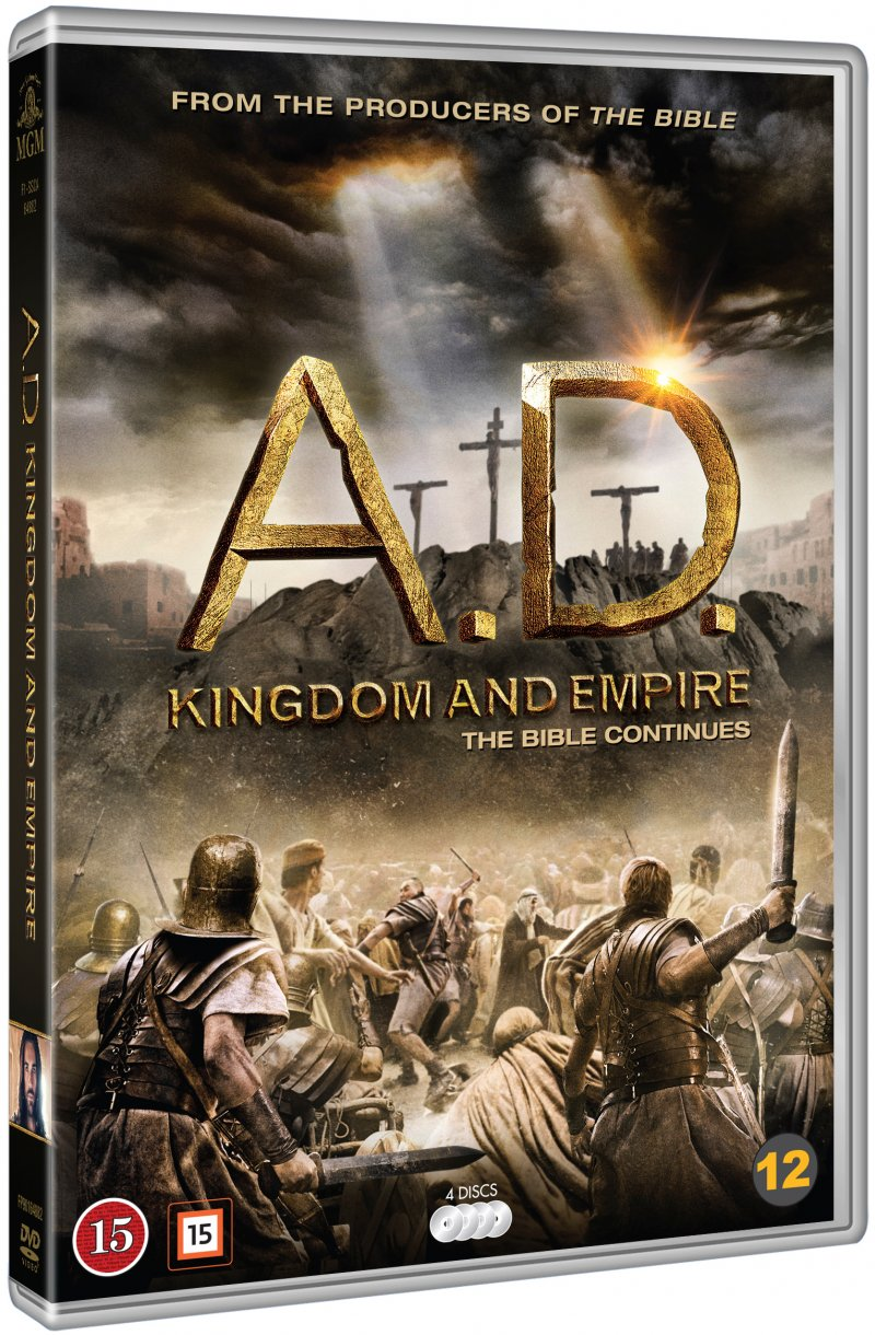 Image of   Ad - Kingdom And Empire - DVD - Tv-serie