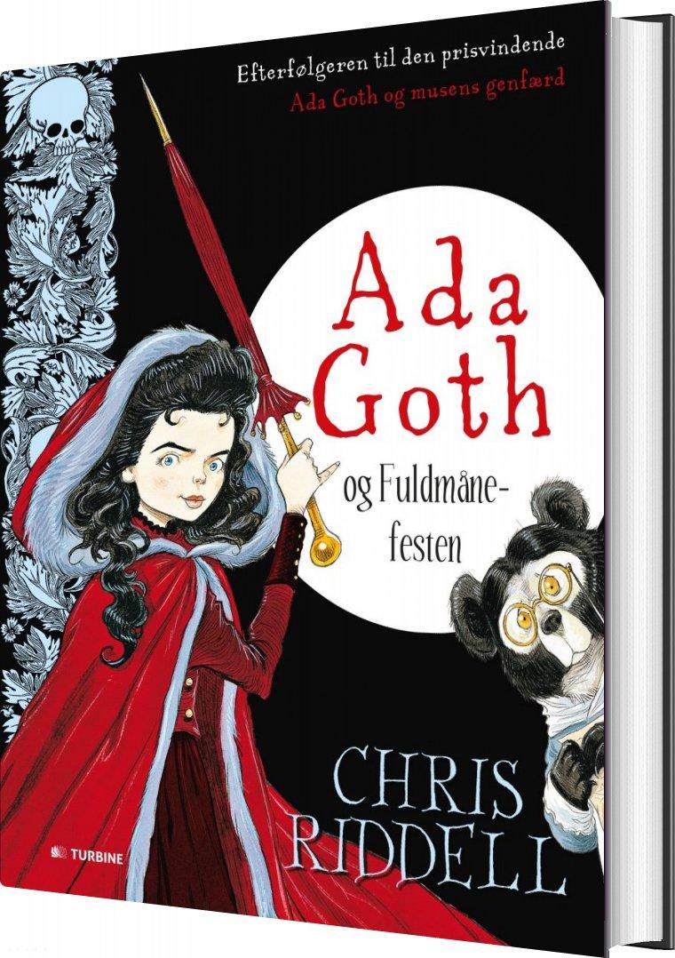 Image of   Ada Goth Og Fuldmånefesten - Chris Riddell - Bog