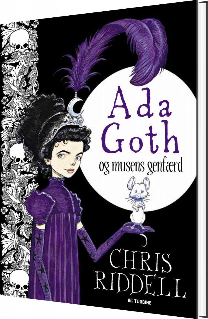 Image of   Ada Goth Og Musens Genfærd - Chris Riddell - Bog