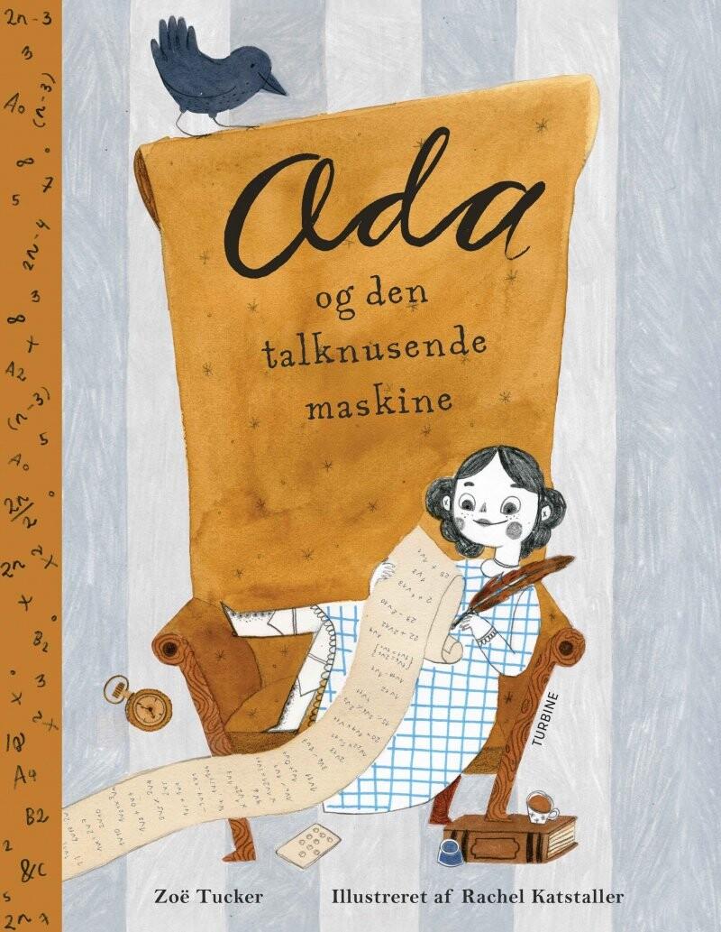 Image of   Ada Og Den Talknusende Maskine - Zoë Tucker - Bog