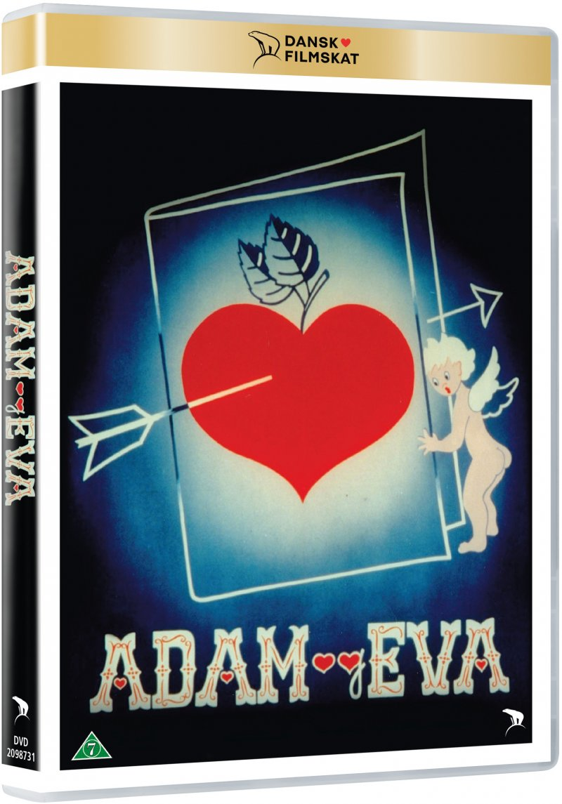 Image of   Adam Og Eva - Erik Balling - DVD - Film