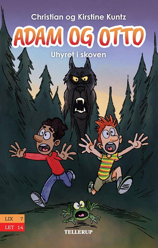 Image of   Adam Og Otto #1: Uhyret I Skoven - Christian Kuntz - Bog