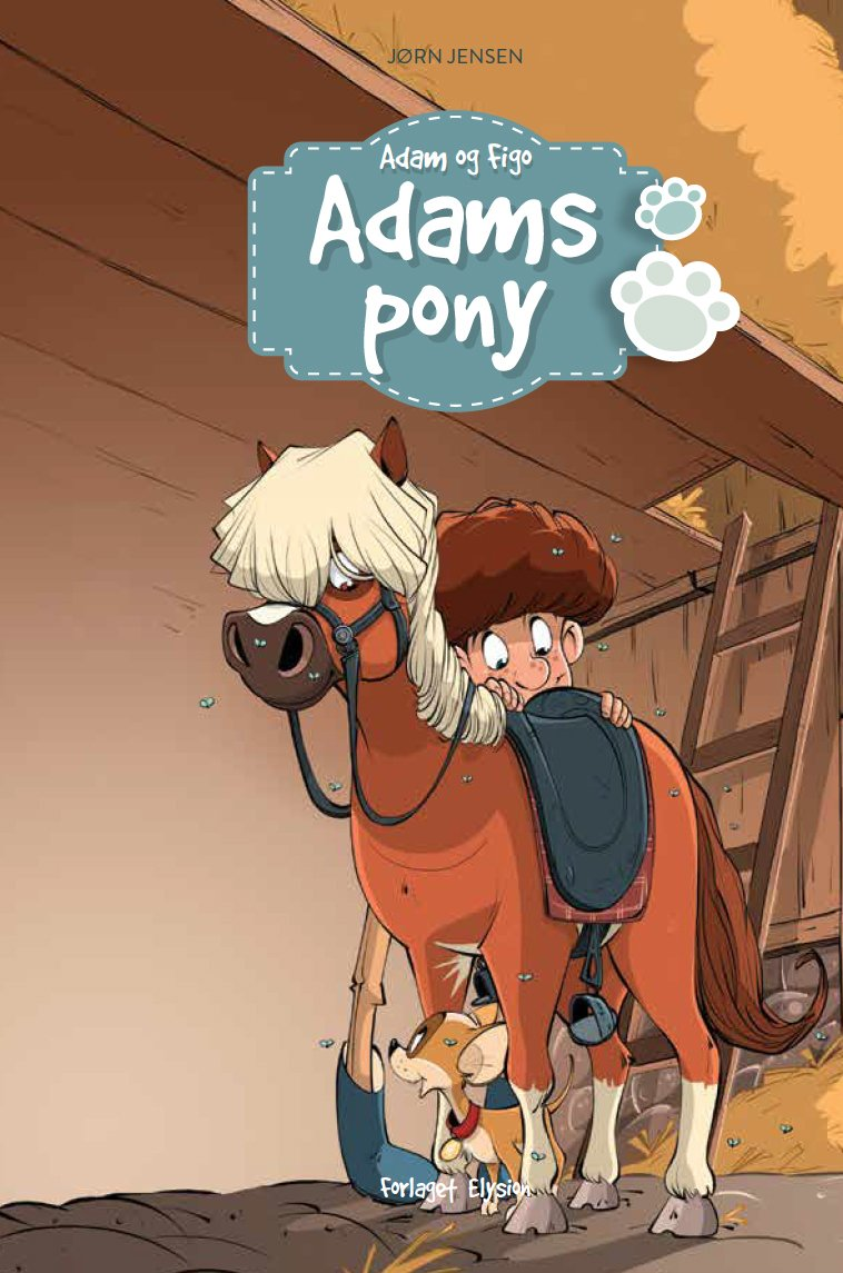 Image of   Adams Pony - Jørn Jensen - Bog
