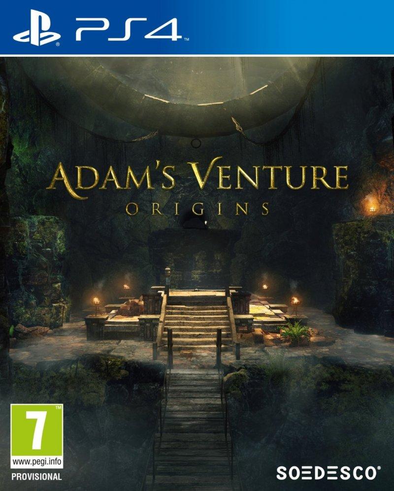Image of   Adam's Venture: Origins - PS4