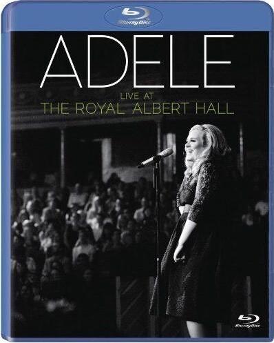 Image of   Adele Live At The Royal Albert Hall (blu-ray+cd) - Blu-Ray