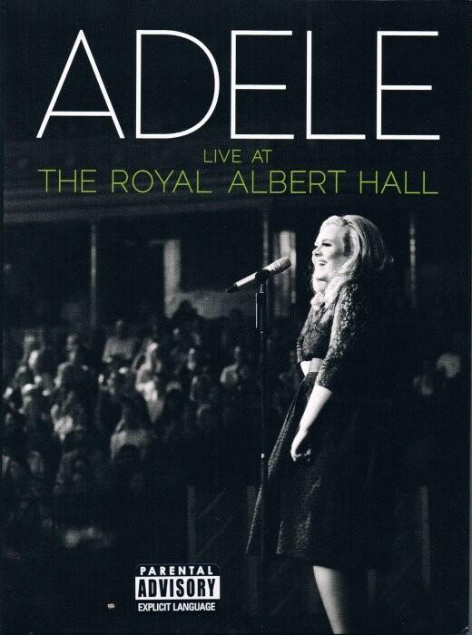 Image of   Adele - Live At The Royal Albert Hall (dvd+cd) - DVD - Film