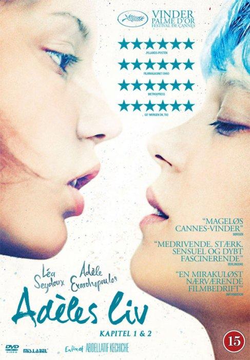 Image of   Adeles Liv / La Vie Dadèle - Kapitel 1 Og 2 - DVD - Film