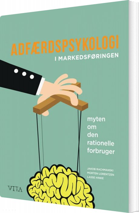 Image of   Adfærdspsykologi I Markedsføringen - Morten Lorentzen - Bog