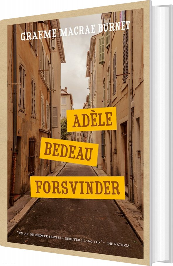 Image of   Adèle Bedeau Forsvinder - Graeme Macrae Burnet - Bog