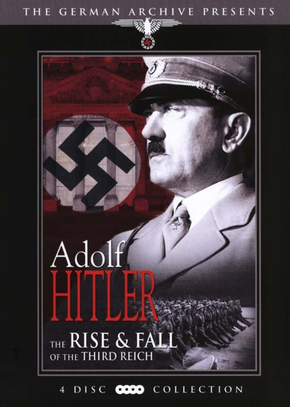 Billede af Adolf Hitler Rise And Fall Of The Third Reich - DVD - Film
