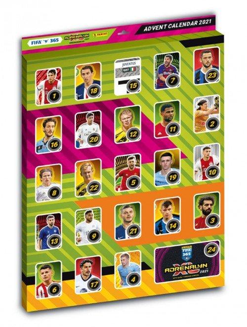 Billede af Adrenalyn - FIFA 365 2020/2021 - Julekalender med fodboldkort