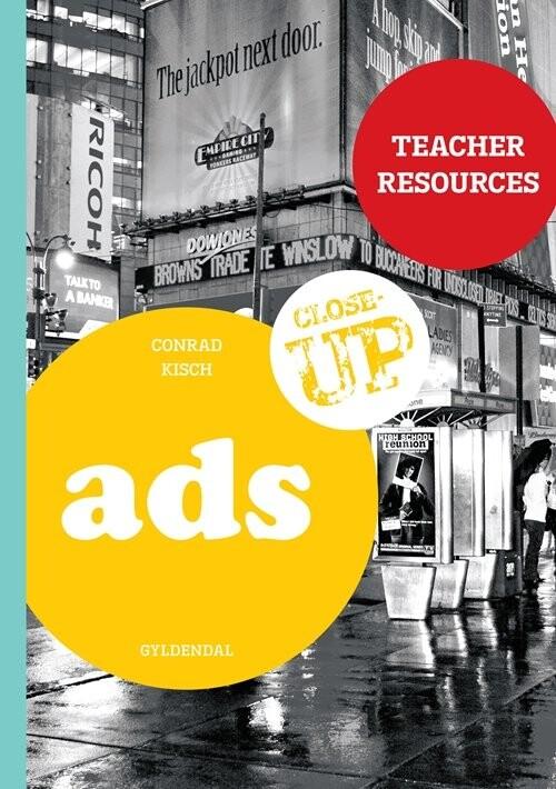 Image of   Ads - Teacher Resources - Conrad Kisch - Bog