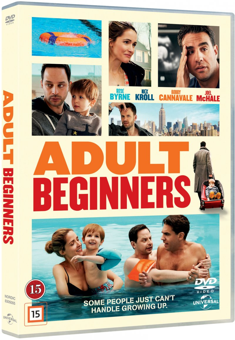 Image of   Adult Beginners - DVD - Film