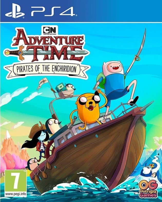 Image of   Adventure Time: Pirates Of The Enchiridion - PS4