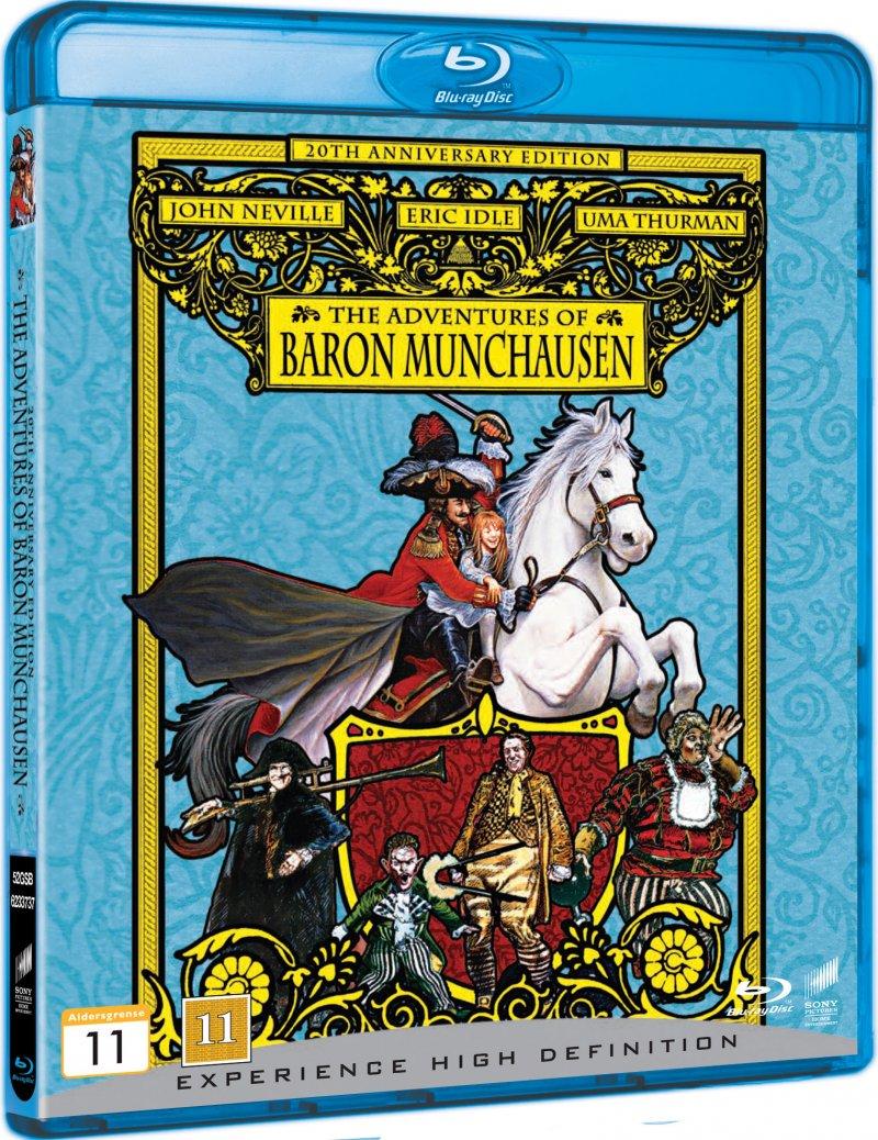 Image of   Baron Munchausen - Blu-Ray