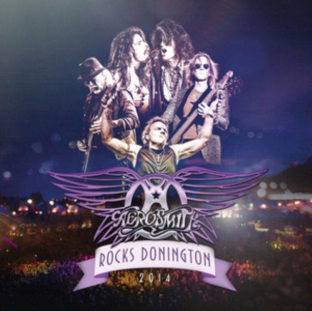 Image of   Aerosmith Rocks Donington 2014 (cd + Dvd) - DVD - Film