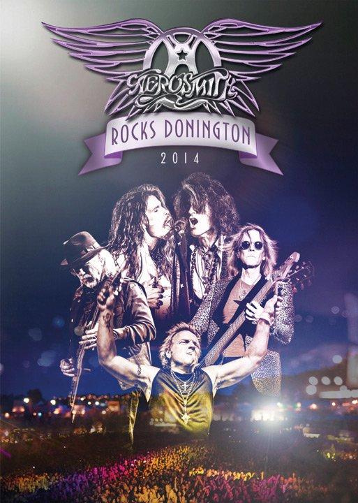 Image of   Aerosmith Rocks Donington - 2014 - DVD - Film