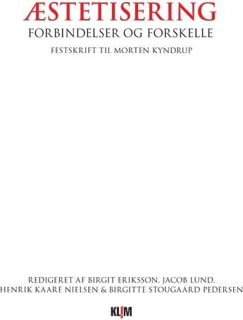 Image of   æstetisering - Henrik Kaare Nielsen - Bog