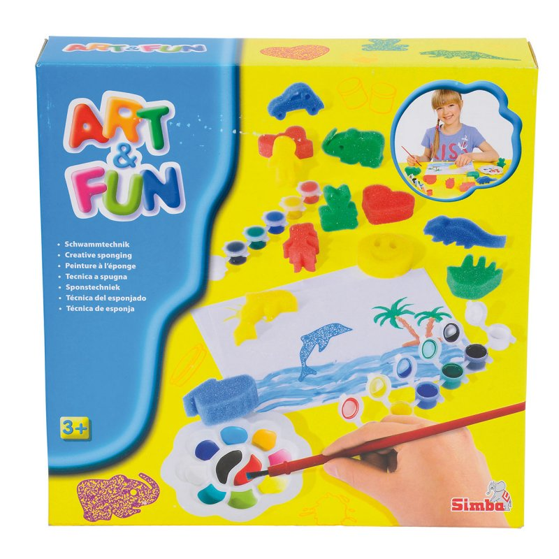 Image of   Art & Fun Hobbysæt