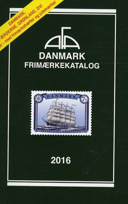 Image of   Afa Danmark Frimærkekatalig 2016 Med Spiralryg - Bog