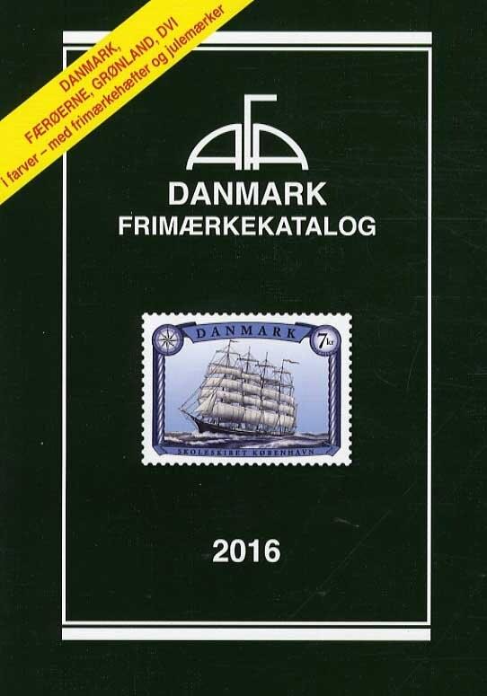 Image of   Afa Danmark Frimærkekatalog 2016 - Diverse - Bog
