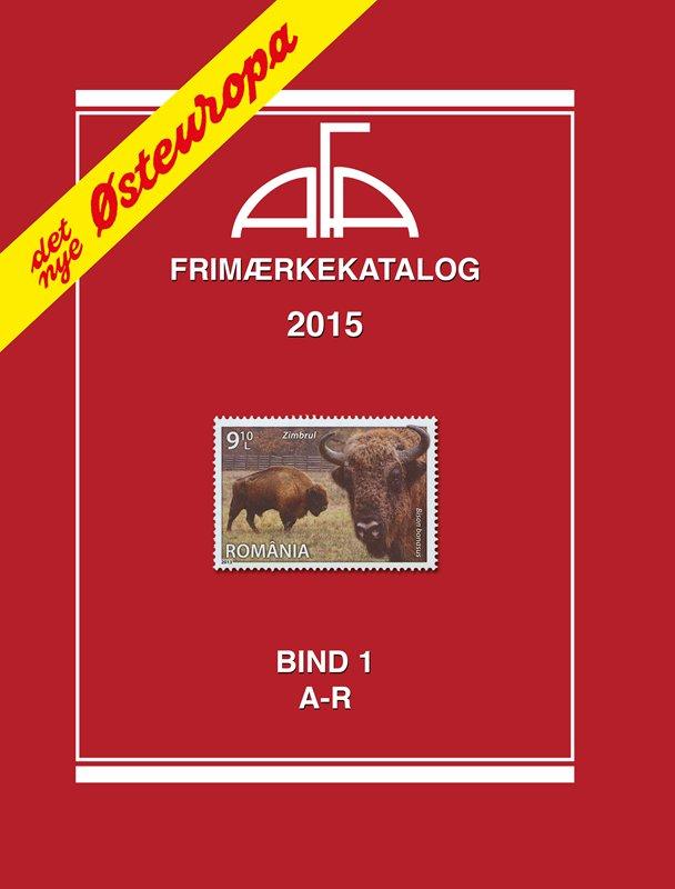 Afa Frimærkekatalog 2015 - østeuropa Bind 1 - A-r - Diverse - Bog