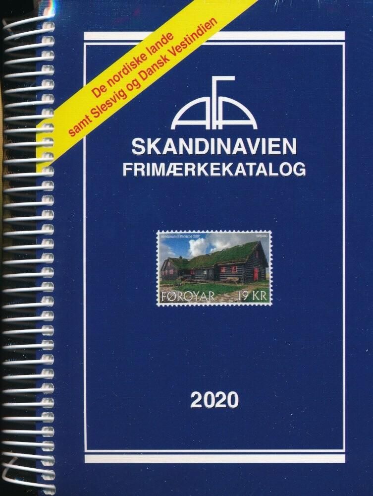 Image of   Afa Frimærkekatalog Skandinavien 2020 - Spiral - Diverse - Bog