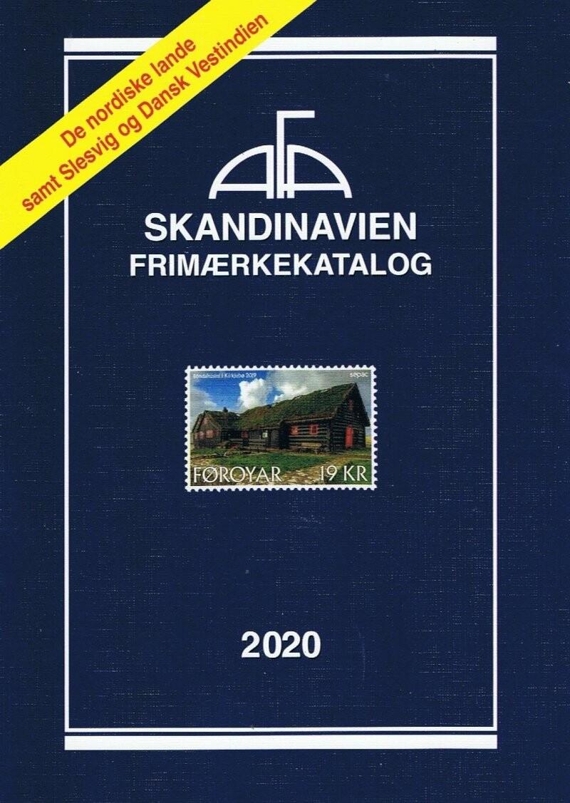 Image of   Afa Frimærkekatalog Skandinavien 2020 - Diverse - Bog