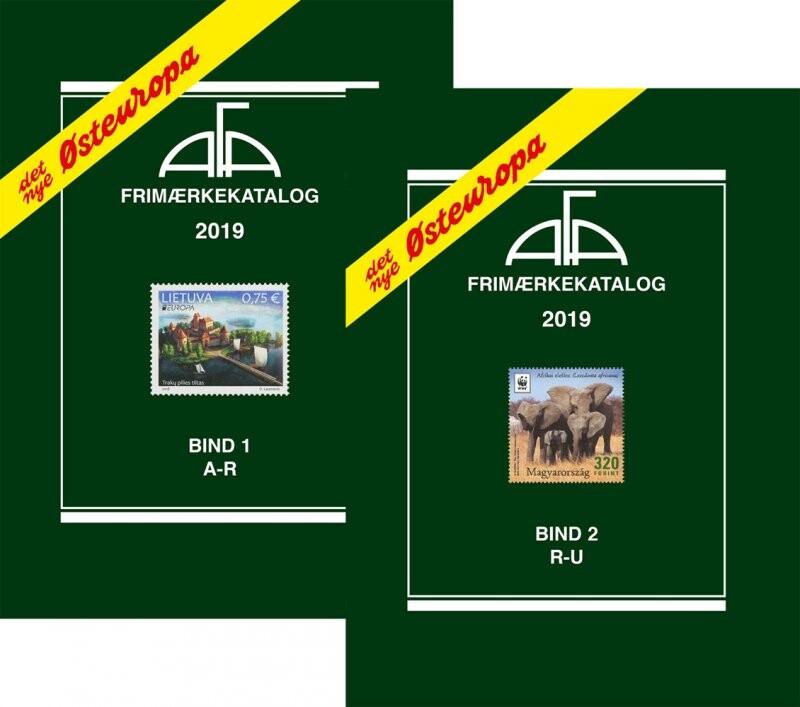 Image of   Afa østeuropa 2019 Bind 1 Og 2 - Diverse - Bog