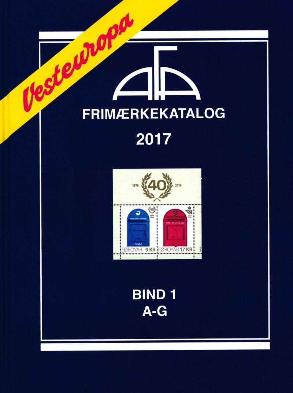 Image of   Afa Vesteuropa 2017 Bind 1 - Diverse - Bog