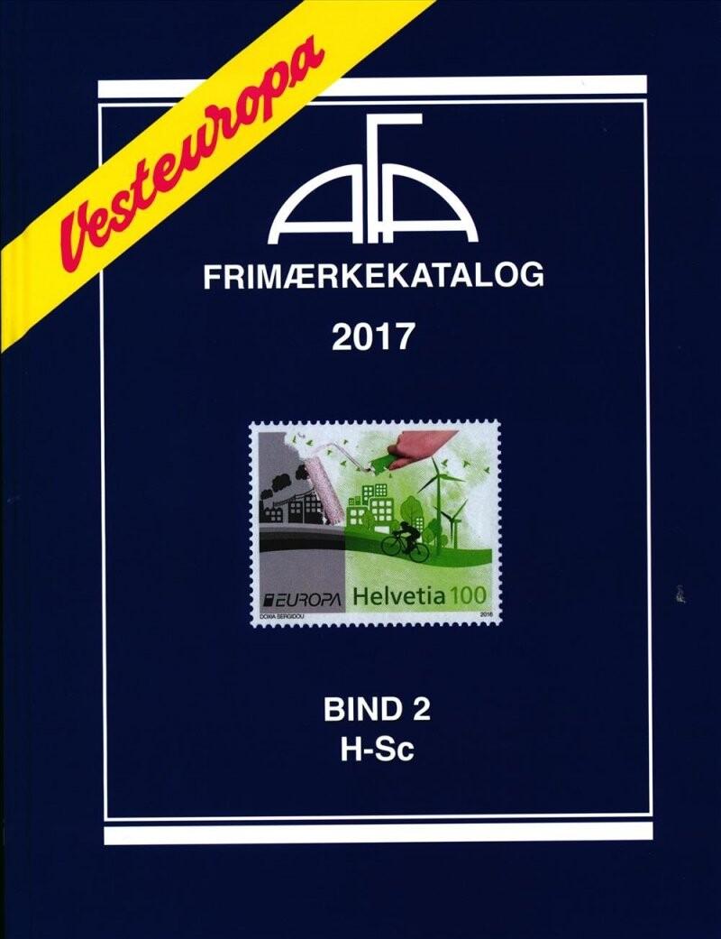 Image of   Afa Vesteuropa 2017 Bind 2 - Diverse - Bog