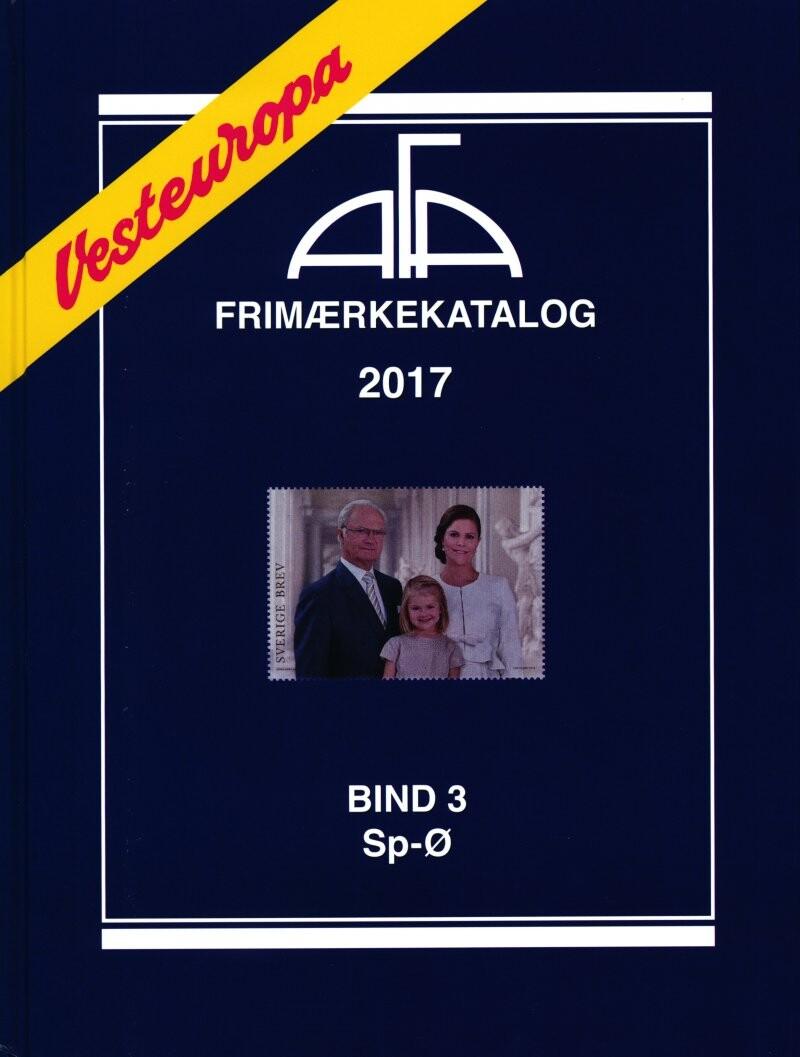 Image of   Afa Vesteuropa 2017 Bind 3 - Diverse - Bog