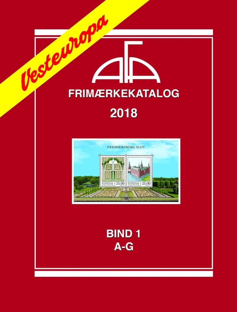 Image of   Afa Vesteuropa I 2018 - Bog