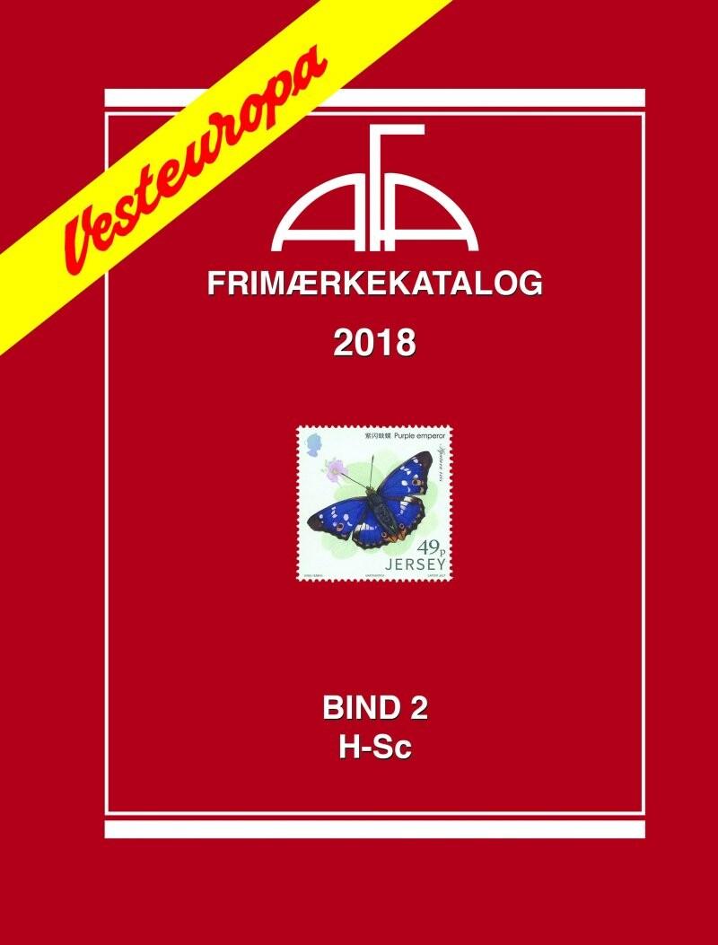 Image of   Afa Vesteuropa Ii 2018 - Bog