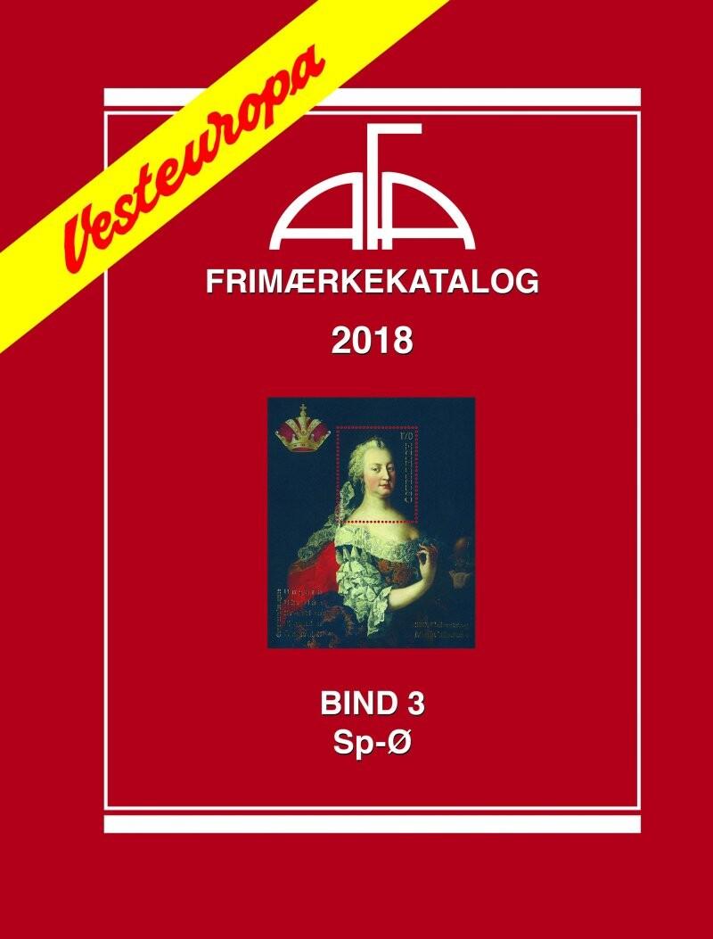 Image of   Afa Vesteuropa Iii 2018 - Diverse - Bog