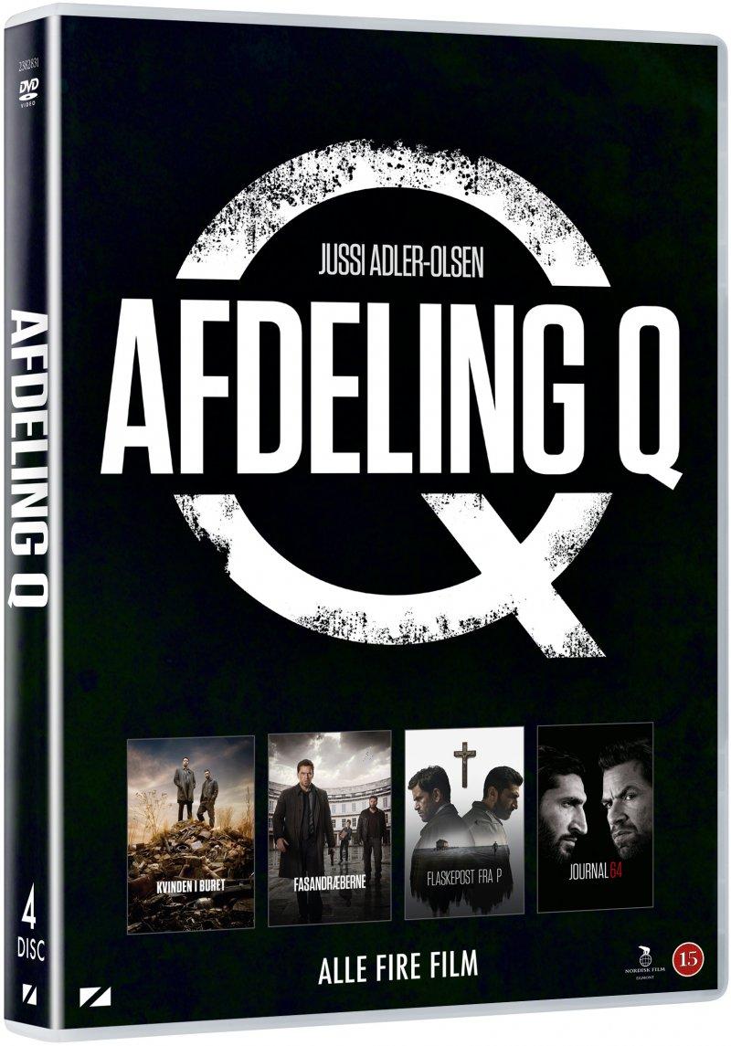 Image of   Afdeling Q Film 1-4 Boks - DVD - Film