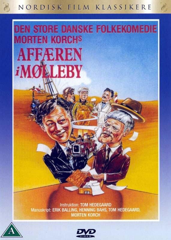 Image of   Affæren I Mølleby - DVD - Film