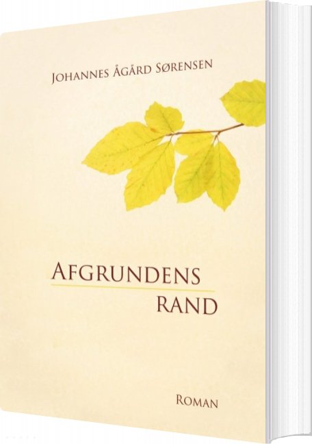 Billede af Afgrundens Rand - Johannes ågård Sørensen - Bog