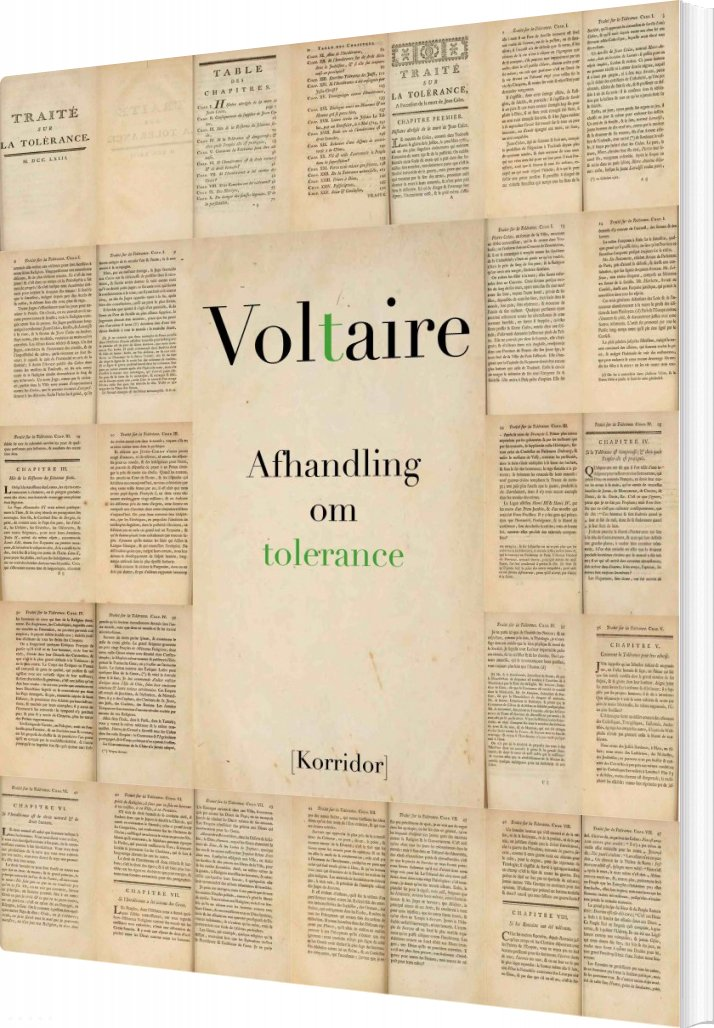 Image of   Afhandling Om Tolerance - Voltaire - Bog