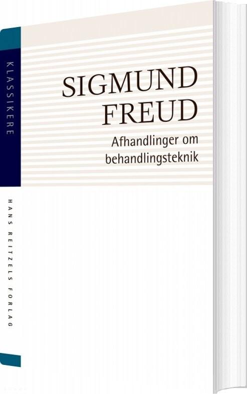 Image of   Afhandlinger Om Behandlingsteknik - Sigmund Freud - Bog