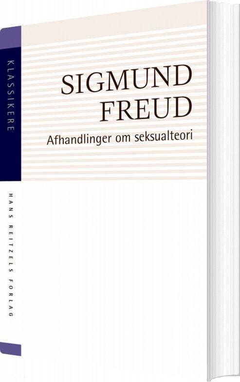 Image of   Afhandlinger Om Seksualteori - Sigmund Freud - Bog