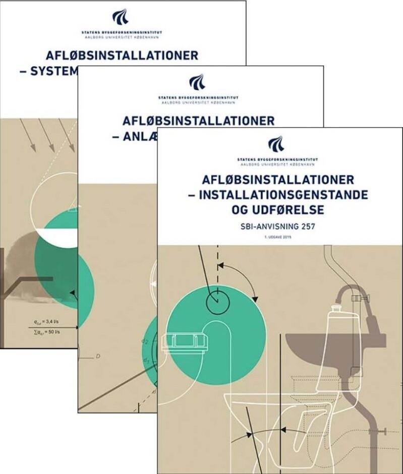 Image of   Afløbsinstallationer - Samlet - Studieudgave - Bog