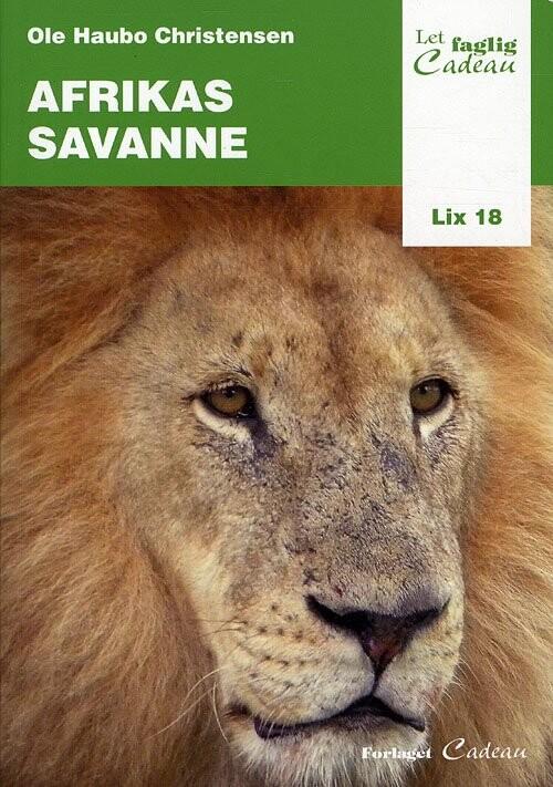 Image of   Afrikas Savanne - Ole Haubo Christensen - Bog