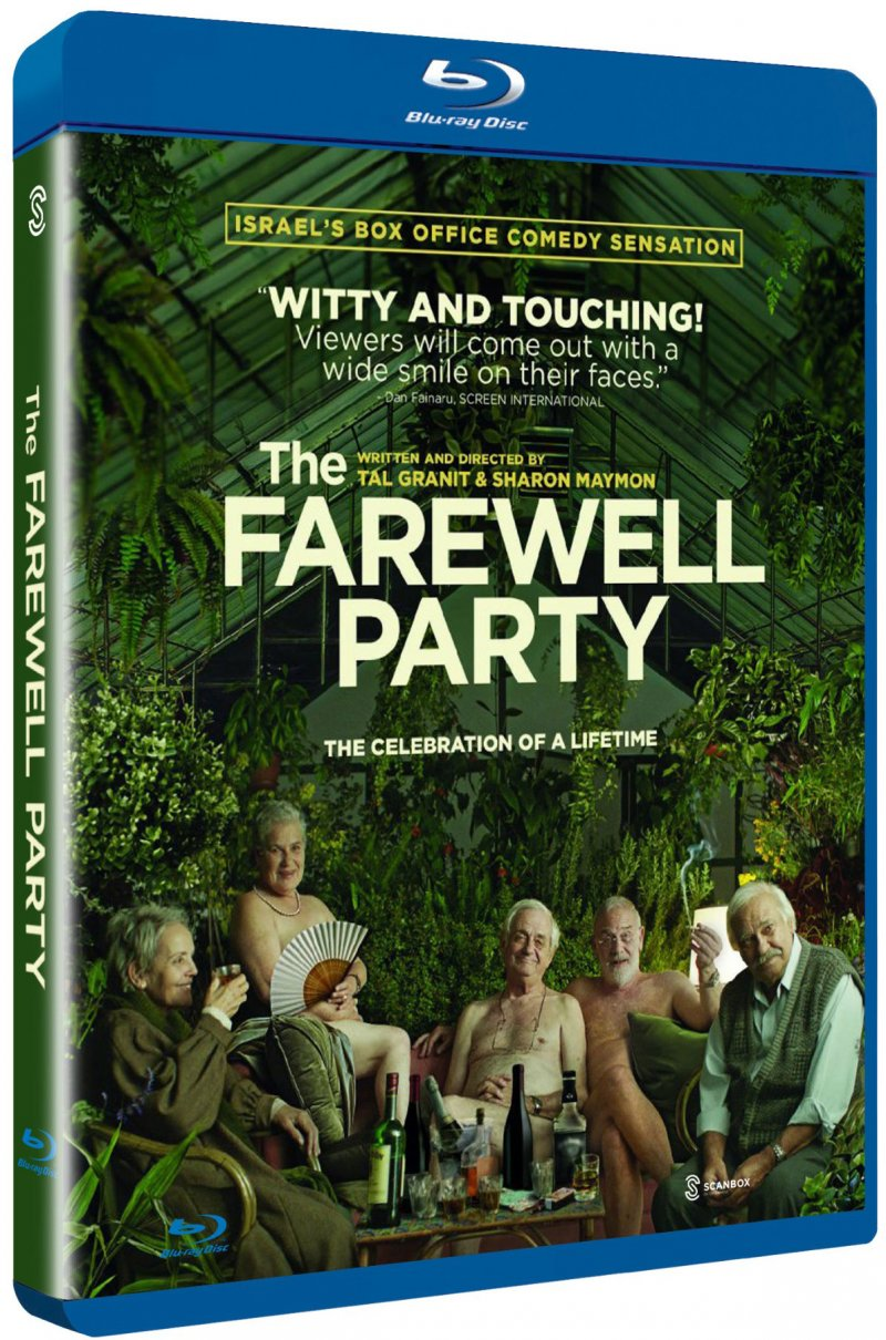 Image of   Afskedsfesten / The Farewell Party - Blu-Ray